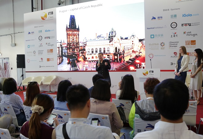 Become the Presentation Hub Sponsor of the ITB China 2018