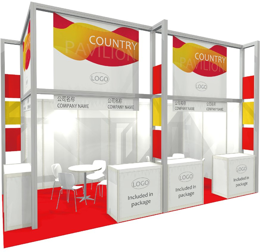 Get together with 4 co-exhibitors and get an ITB China pavilion