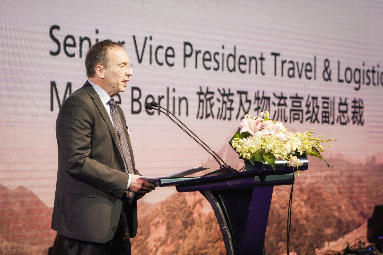 Messe Berlin 旅游及物流高级副总裁,Dr. Buck