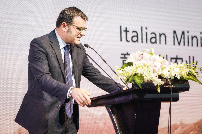 意大利农业、食品、林业政策和旅游部部长,蒋·马可·乾迪纳尤